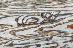 Vue supérieure extérieure en bois de vintage Photo libre de droits