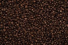 Vue sup?rieure sur la texture de fond des grains de caf? images libres de droits
