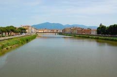 Vue sur Arno Photographie stock libre de droits
