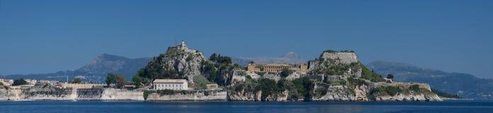 Vue sur Corfou Grèce Photo stock