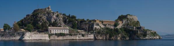 Vue sur Corfou Grèce Photos libres de droits