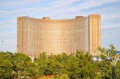 Vue sur des osmos de ¡ de l'hôtel Ð dans la ville de Moscou Photos stock