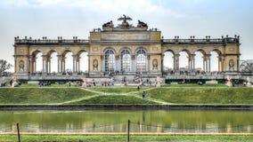 Vue sur Gloriette dans le palais de Schonbrunn, Vienne, Autriche photos libres de droits