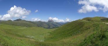 Vue sur Groesser Rettenstein, Autriche Images stock