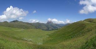 Vue sur Groesser Rettenstein, Autriche Image stock