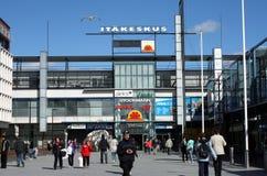 Vue sur Helsinki photo libre de droits