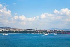 Vue sur Istanbul Photos stock