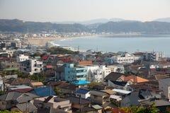 Vue sur Kamakura Images libres de droits