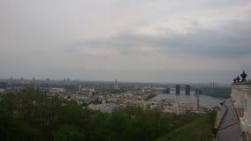 Vue sur Kiev Image stock