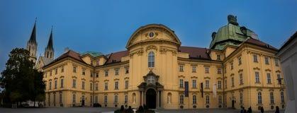 Vue sur Klosterneuburg, Vienne images stock