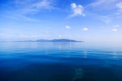 Vue sur l'océan en Thaïlande Images libres de droits