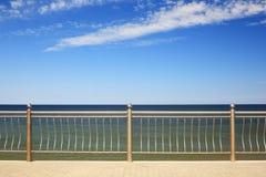 Vue sur la mer baltique Images libres de droits