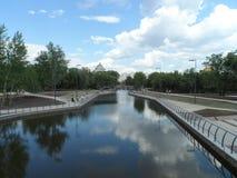 Vue sur la rivière Photos libres de droits