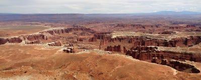 Vue sur la terre Etats-Unis de canyon photo libre de droits