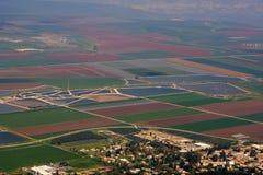 Vue sur la vallée de l'Israël Photo libre de droits