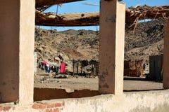 Vue sur la vieille maison des bédouins photo libre de droits