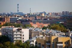 Vue sur la ville Photographie stock