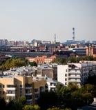 Vue sur la ville Photo libre de droits