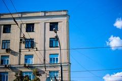 Vue sur la ville Photographie stock libre de droits