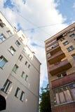 Vue sur la ville Photos libres de droits