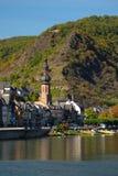 Vue sur la ville de Cochem Photo libre de droits