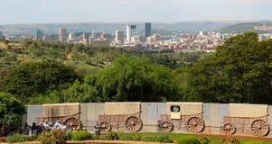Vue sur la ville de Pretoria Photos libres de droits