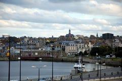 Vue sur la ville St-Malo Photo libre de droits