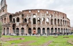 Vue sur le Colisé à Rome, Italie Photo libre de droits