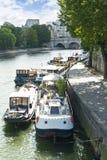 Vue sur le fleuve de sena Photos stock