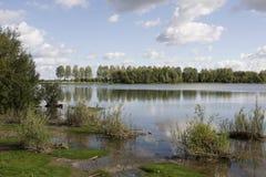 Vue sur le lac Photos libres de droits