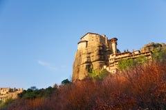 Vue sur le monastère grec de Monastiraki Images libres de droits
