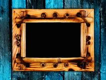 Vue sur le mur en bois Photos libres de droits