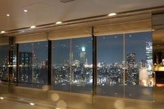 Vue sur le paysage urbain de Tokyo Photos libres de droits