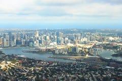 Vue sur le port de Sydney Photo stock