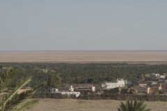 Vue sur le Sahara photographie stock libre de droits
