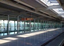 Vue sur le terminal d'aéroport Photos libres de droits