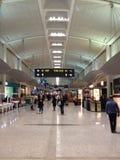 Vue sur le terminal d'aéroport Images libres de droits