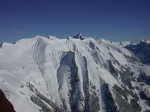 Vue sur les Alpes Photos libres de droits