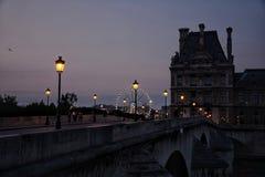 Vue sur Louvre Stock Afbeelding