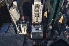 Vue sur Manhattan image libre de droits