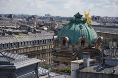 Vue-sur Opéra Lizenzfreie Stockbilder