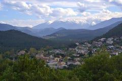 Vue sur Ponte-Leccia Images stock