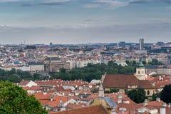 Vue sur Prague Photos libres de droits