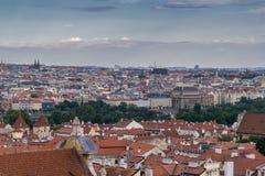 Vue sur Prague Photographie stock