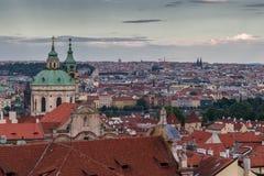 Vue sur Prague Image libre de droits