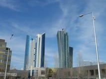 Vue sur quelques bâtiments Image libre de droits