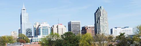 Vue sur Raleigh du centre, OR images stock