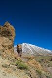 Vue sur Teide Image libre de droits