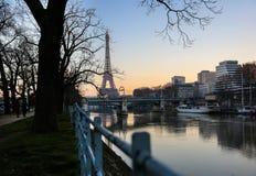 Vue sur Tour Eiffel Photographie stock libre de droits