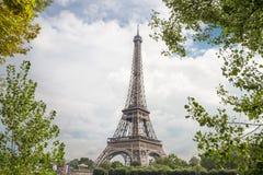 Vue sur Tour Eiffel Image stock